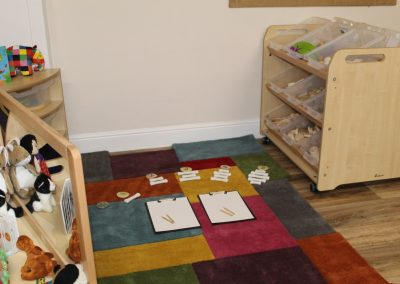 Toddlers' Maths Play Area